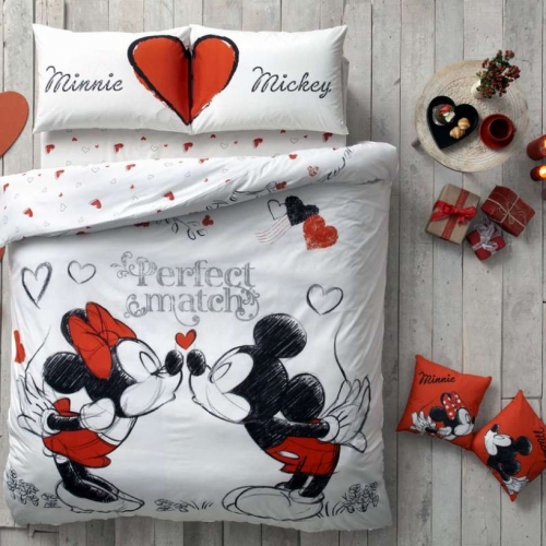 Funda Nordica Mickey Y Minnie Beso.Funda Nordica Mickey Minnie Matrimonio
